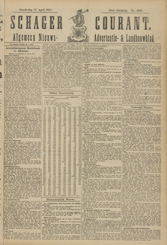 Schager Courant 1911-04-27