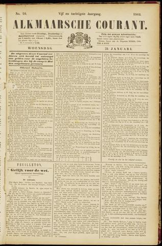 Alkmaarsche Courant 1883-01-24