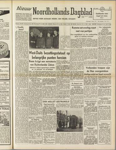Nieuw Noordhollandsch Dagblad : voor Alkmaar en omgeving 1951-03-07