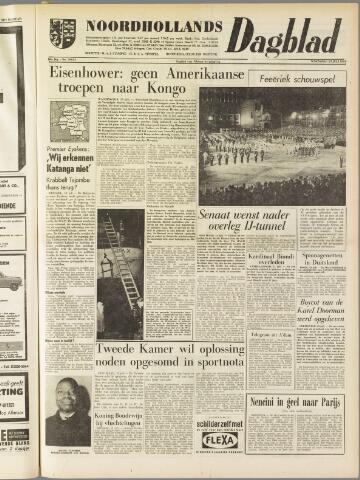 Noordhollands Dagblad : dagblad voor Alkmaar en omgeving 1960-07-13