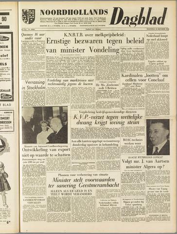 Noordhollands Dagblad : dagblad voor Alkmaar en omgeving 1958-10-22