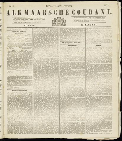 Alkmaarsche Courant 1873-01-19