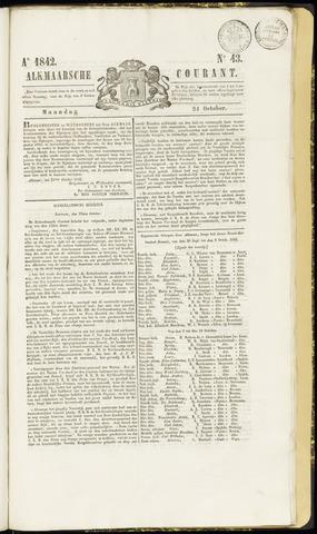 Alkmaarsche Courant 1842-10-24