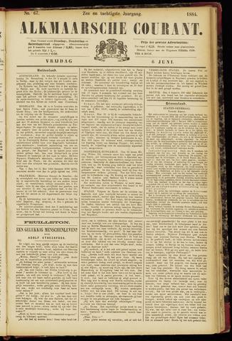 Alkmaarsche Courant 1884-06-06