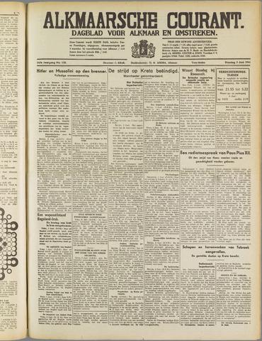 Alkmaarsche Courant 1941-06-03