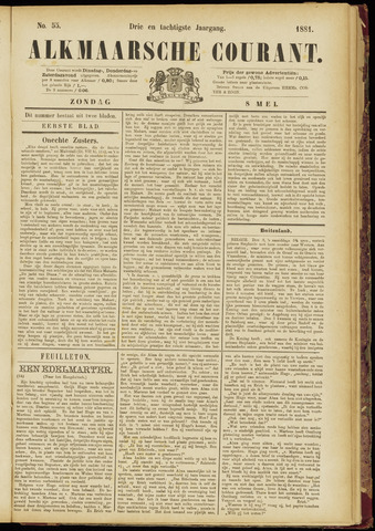 Alkmaarsche Courant 1881-05-08