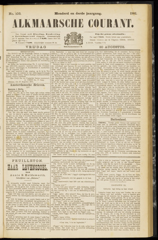 Alkmaarsche Courant 1901-08-30
