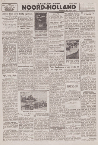 Dagblad Noord-Holland, Schager editie 1943-04-16