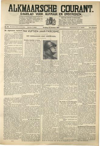 Alkmaarsche Courant 1937-10-29