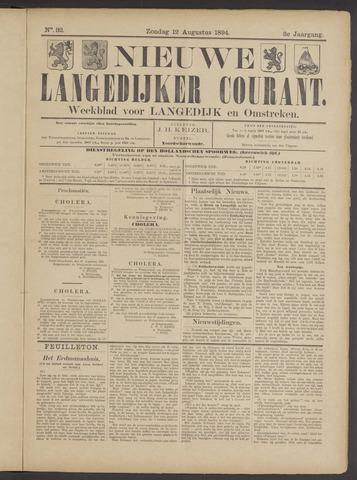 Nieuwe Langedijker Courant 1894-08-12