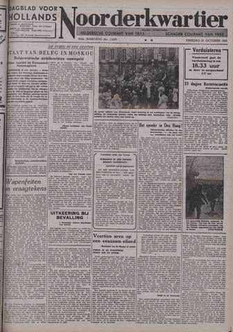 Dagblad voor Hollands Noorderkwartier 1941-10-21