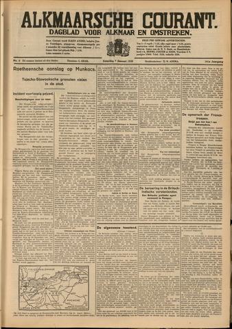 Alkmaarsche Courant 1939-01-07