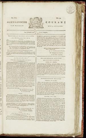 Alkmaarsche Courant 1823-08-11