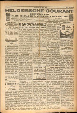 Heldersche Courant 1928-04-21