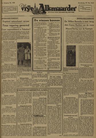 De Vrije Alkmaarder 1947-05-22