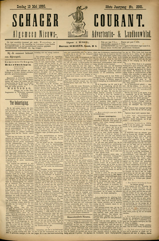 Schager Courant 1895-05-19