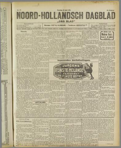 Ons Blad : katholiek nieuwsblad voor N-H 1922-04-29