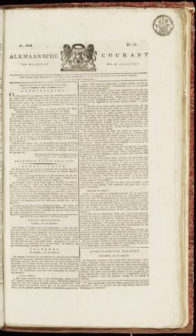 Alkmaarsche Courant 1826-08-28