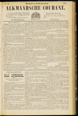 Alkmaarsche Courant 1901-07-10