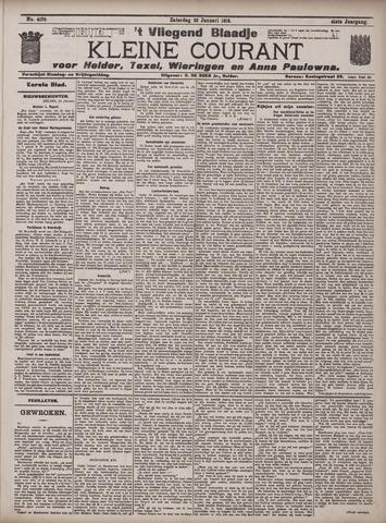 Vliegend blaadje : nieuws- en advertentiebode voor Den Helder 1913-01-25