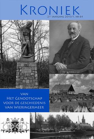 Kroniek Historisch Genootschap Wieringermeer 2013