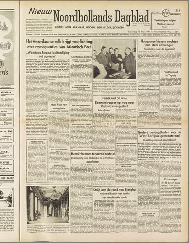 Nieuw Noordhollandsch Dagblad : voor Alkmaar en omgeving 1949-05-16