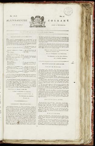 Alkmaarsche Courant 1818-11-16