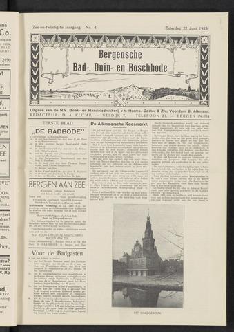 Bergensche bad-, duin- en boschbode 1935-06-22