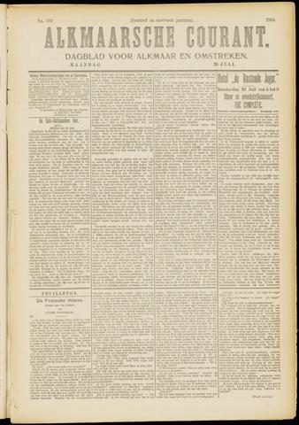Alkmaarsche Courant 1914-07-20