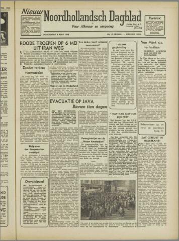 Nieuw Noordhollandsch Dagblad : voor Alkmaar en omgeving 1946-04-03