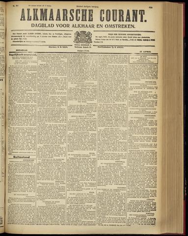 Alkmaarsche Courant 1928-04-17