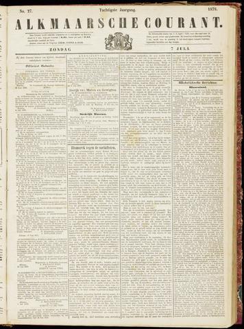 Alkmaarsche Courant 1878-07-07