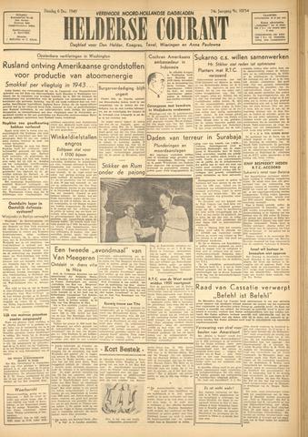 Heldersche Courant 1949-12-06