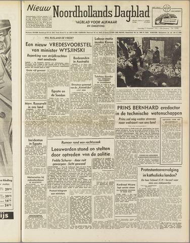 Nieuw Noordhollandsch Dagblad : voor Alkmaar en omgeving 1951-11-17