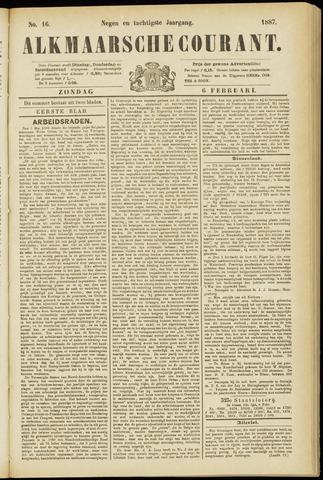 Alkmaarsche Courant 1887-02-06