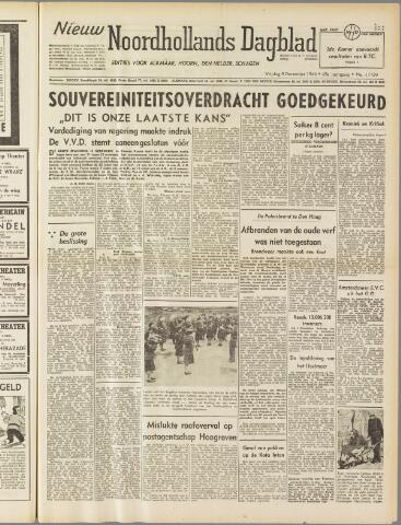 Nieuw Noordhollandsch Dagblad : voor Alkmaar en omgeving 1949-12-09