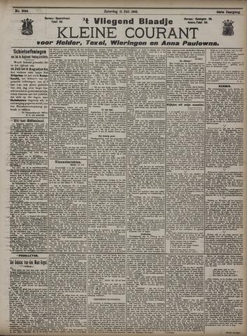 Vliegend blaadje : nieuws- en advertentiebode voor Den Helder 1908-07-11