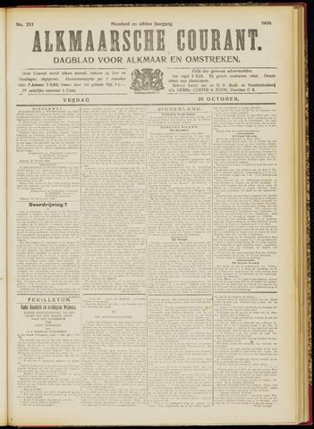 Alkmaarsche Courant 1909-10-29