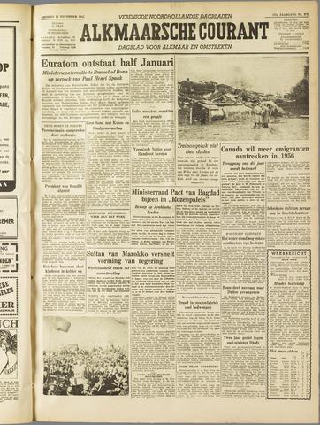 Alkmaarsche Courant 1955-11-22