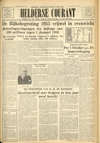Heldersche Courant 1954-09-21