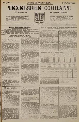 Texelsche Courant 1910-10-23