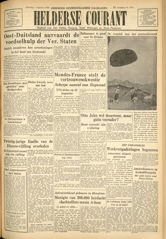 Heldersche Courant 1954-08-07