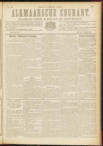 Alkmaarsche Courant 1917-11-20
