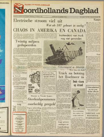 Noordhollands Dagblad : dagblad voor Alkmaar en omgeving 1965-11-10