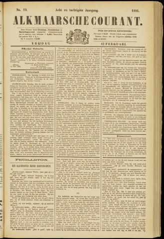 Alkmaarsche Courant 1886-02-12
