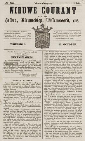 Nieuwe Courant van Den Helder 1864-10-12