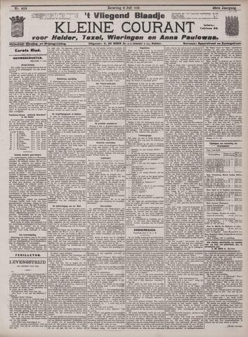Vliegend blaadje : nieuws- en advertentiebode voor Den Helder 1912-07-06