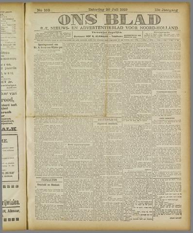 Ons Blad : katholiek nieuwsblad voor N-H 1919-07-26