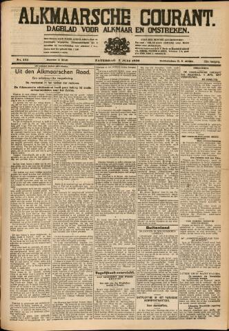 Alkmaarsche Courant 1930-06-07