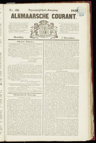 Alkmaarsche Courant 1857-12-07